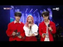 MC CUT4 171017 B.A.P Youngjae, MOMOLAND Jooe TRCNG Hohyeon SBS MTV THE SHOW