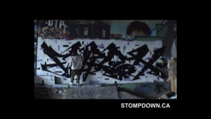 NACS KEEP SIX - SNAK THE RIPPER - SDK 295 - (song by ONYX - SLAM ) STOMPDOWN KILLAZ GRAFFITI