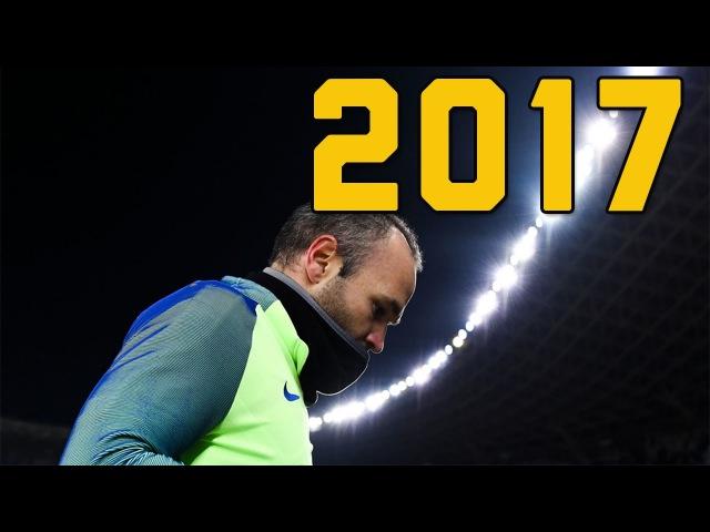 Andres Iniesta 2017 Dribbling Skills/Passes Assists || HD