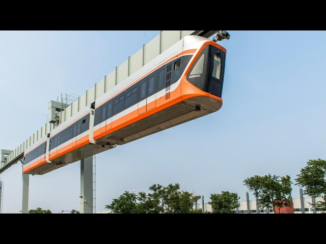 China's latest fastest 'Skytrain' begins trial runs