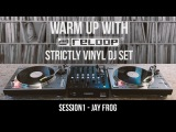 Strictly Vinyl DJ Set - DanceElectro Live Session w Jay Frog (Warm Up With Reloop 01)
