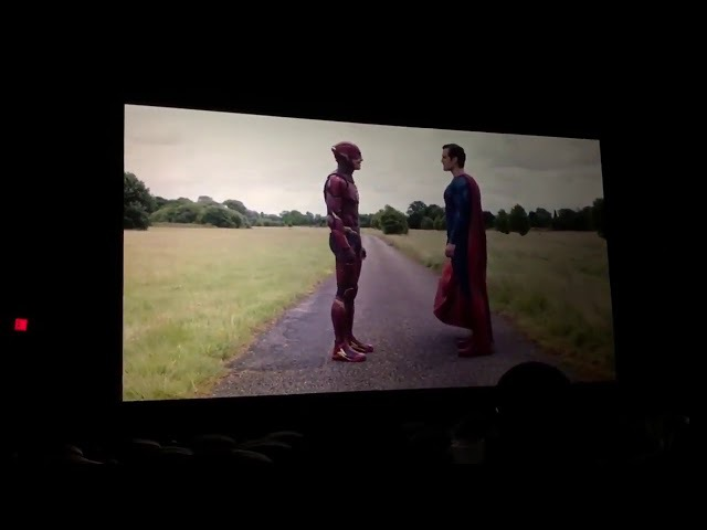 Justice League All End Credit Scenes The Flash vs Superman,Deathstroke and Lex Luthor's Appearance