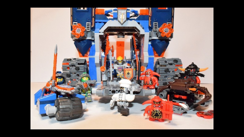 Крепость Фортрекс Лего Нексо Найтс . Lego NEXO KNIGHTS 70317