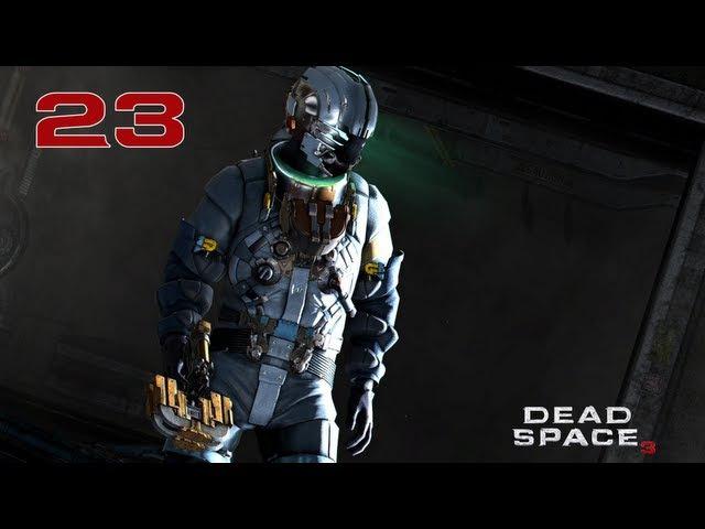 Прохождение Dead Space 3 - Часть 23 — Босс: Снежная тварь | Скалы Волантис