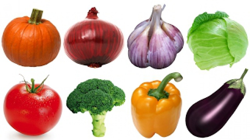 Learn names of Fruits and Vegetables in English Learn English for Kids Babies Children (Part 3)