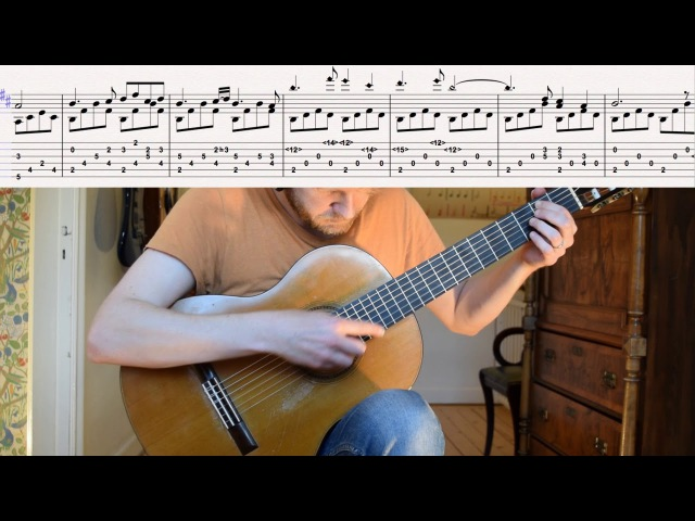 The Witcher 3: Wild Hunt - Kaer Morhen (Acoustic Classical Guitar Fingerstyle Cover with tabs)