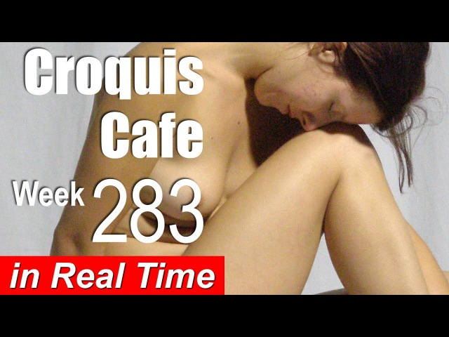 Croquis Cafe Figure Drawing Resource No. 283