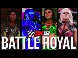 WWE 2K18  BATTLE ROYAL - Ember Moon vs Royce vs Maryse vs Kay vs Asuka vs James vs Naomi vs Bliss