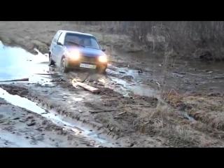 Авто Ока,бездорожье прикол
