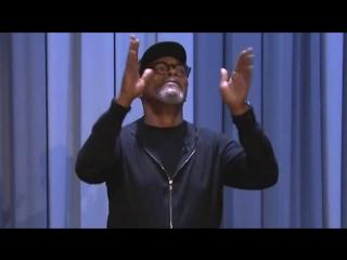 Сэмюэл Л. Джексон - Его выход на шоу Джимми Фэллона (03.03.2017)
