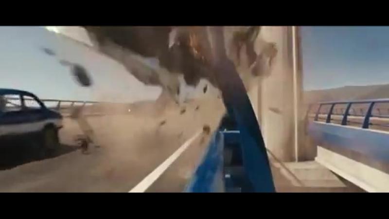 Доменик спасает жизнь Лети маленькая часть фильма Форсаж 6 (1)