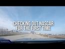 Checking out Daniel Ricciardo first NASCAR race w  Dale Jr and Chase Elliott