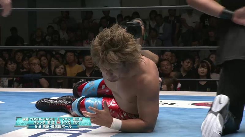 Bad Luck Fale, Takahashi, Tama Tonga, Tanga Loa vs. Hirooki Goto, YOSHI-HASHI, Baretta, Jado (NJPW - Road to DESTRUCTION 2017)