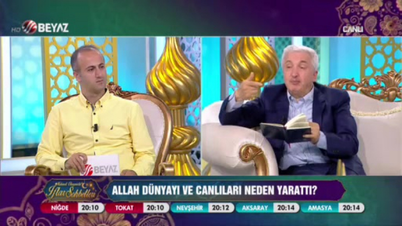 Mehmet Okuyan'la İftar Sohbetleri 9 Haziran
