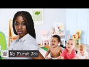 [WWE QTV]☆[My First Job]Naomis journey from babysitting to the Orlando Magic to WWE]Путешествие Наоми от няни до Магии Орландо]