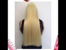 Окрашивание блонд в Бигуди