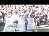 Выступление с песней Really Don't Care на музыкальном фестивале от ток-шоу Good Morning America (6 июня 2014 года)