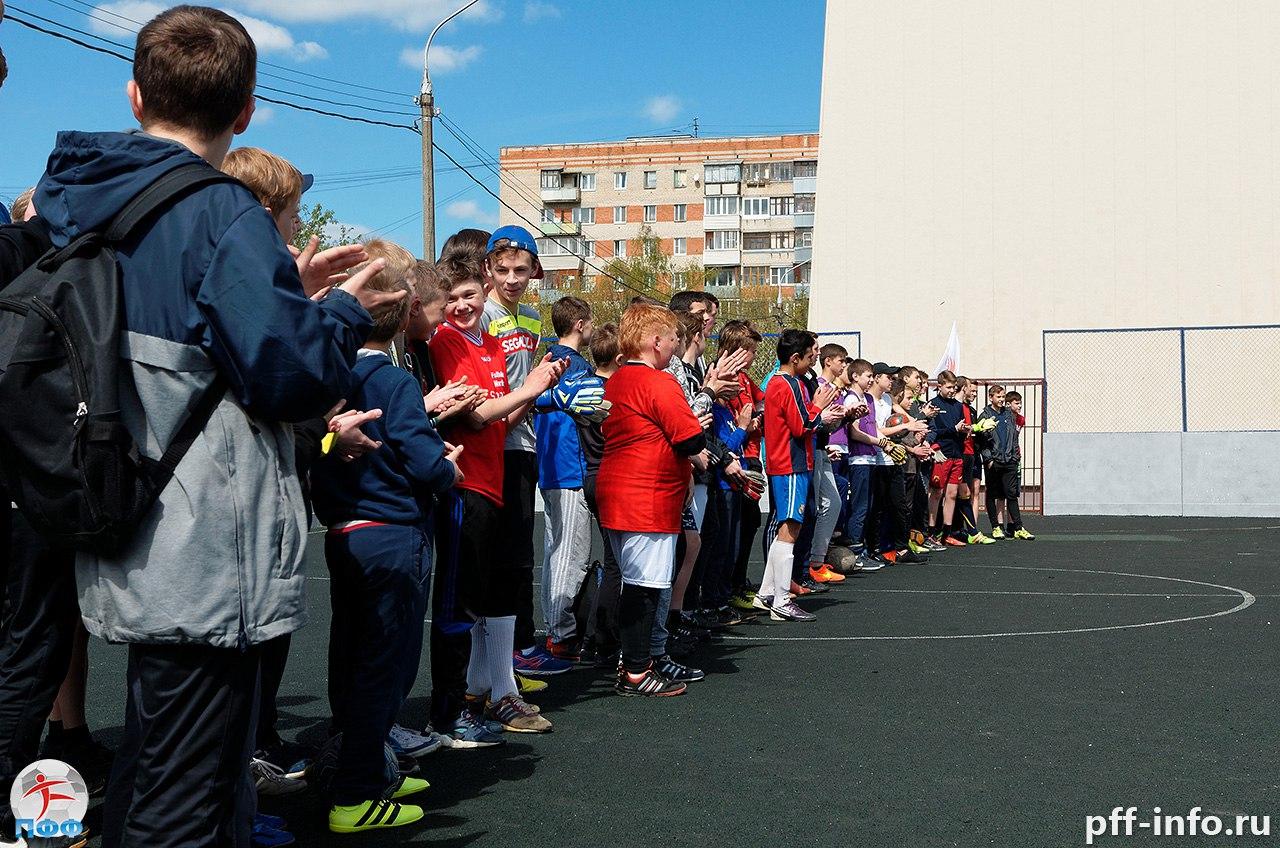 Первый турнир до 12 лет пройдет в субботу у Дворца молодежи