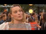 Интервью для «Flash News» на премьере фильма «Прощай, Кристофер Робин» в Лондоне | 20.09.2017 (Русские субтитры)