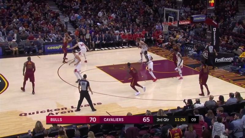 Cleveland Cavaliers Chicago Bulls 24 10 17