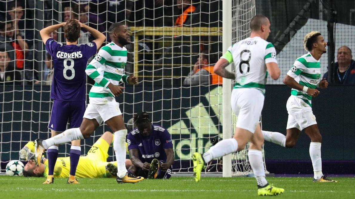 110. RSC Anderlecht (BEL) - Celtic FC (SCO) 0:3
