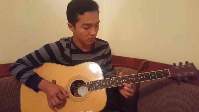 Mexico music guitar. Madyar Kuandyk.