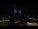 TRON Legacy Light Show In Oslo