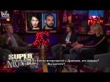 Иоланда играет в игру «СуперМАМдель» на ток-шоу «Смотрите, что происходит в прямом эфире с Энди Коэном» (русские субтитры)
