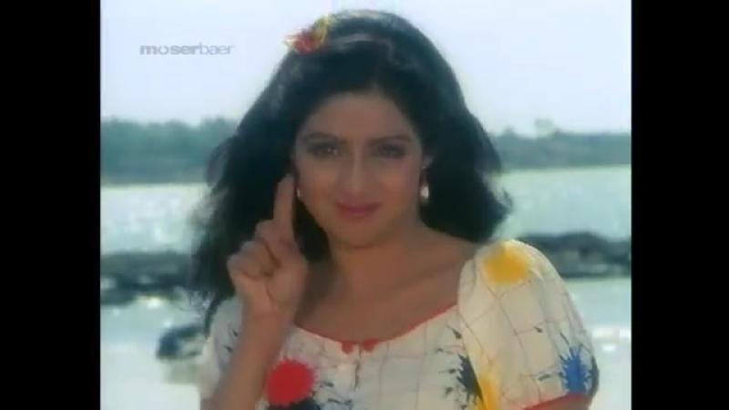 Sridevi, Rakesh Roshan - Super Fast Love (Bhagwaan Dada) - Kishore Kumar, Anuradha Paudwal