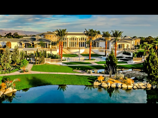 Amazing $10 Million 18,000 S.Q F.T 7 Bedroom 8 Bathroom Home on Acres in California USA