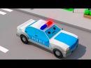 Полицейская Машина Погоня Мультики про МАШИНКИ Развивающие мультфильмы для дет...