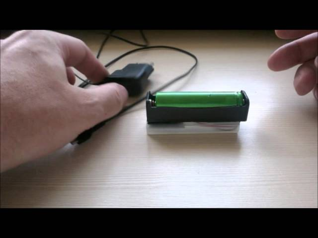 Самодельная micro USB зарядка для 18650