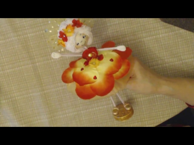 25 Tutorial muñeca de pajita.Macтер-класс кукла из соломки для коктейлей.