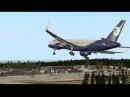 Горит багаж Работа системы рандомных отказов на Boeing 757 200 для X Plane