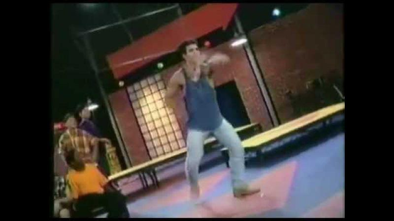 Austin St. John dancing