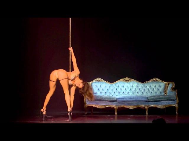 MADDIE SPARKLE 2nd Place Miss Pole Dance Australia NSW 2015