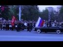 Сибирский Кадетский Корпус. Генеральная репетиция парада победы 9 мая 2015 года.