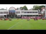 Complete cool down and stretching - FC Bayern Munich training