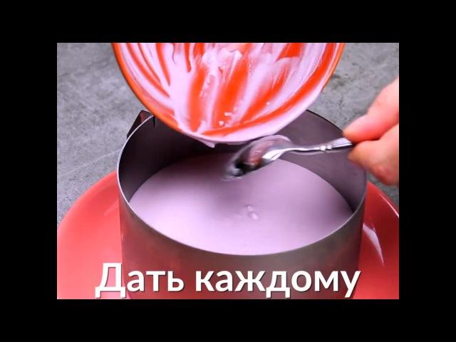 Черничный чизкейк без выпечки