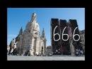 Der Antichrist vor´m Brandenburger Tor und Dresdener Frauenkirche
