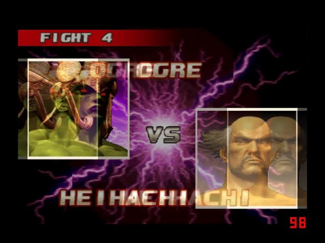Tekken 3 online Мapuwka Мамочка Ogre vs Пиздец Sony Espino Heihachi Мой последний бой