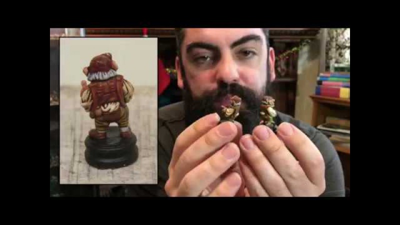 Painting your Labyrinth Figures with Johnny from TTG.