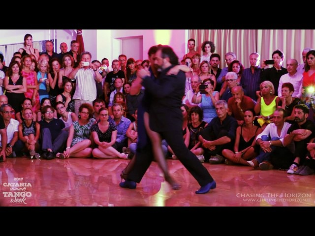 Gustavo Naveira y Giselle Anne - Catania Summer Tango Week 2017 1/5