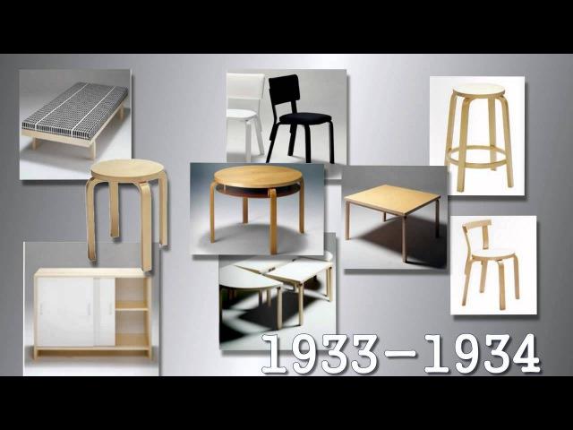 Алвар Аалто Мебельный дизайн