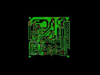 Удосконалена плата Clone Pi W на CD4066.