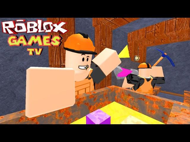 РОБЛОКС ДОБЫЧА ЗОЛОТА мульт игра roblox страшилка для детей на детском игровом от ro...