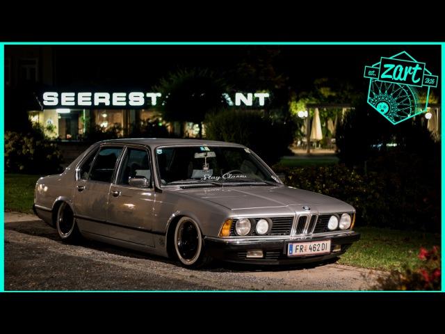 BMW stancenation Austria bagged E23 E24 airride WÖRTHERSEE