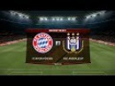 Bayern Munchen vs Anderlecht | UEFA Champions League | Allianz Arena | PES 2017 HD