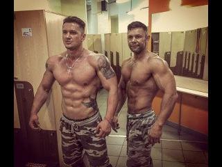 Совместная тренировка. Гонин Илья и Роман Четин.