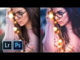 How to Create the Trendy Warm Lights Effect in Lightroom and Photoshop